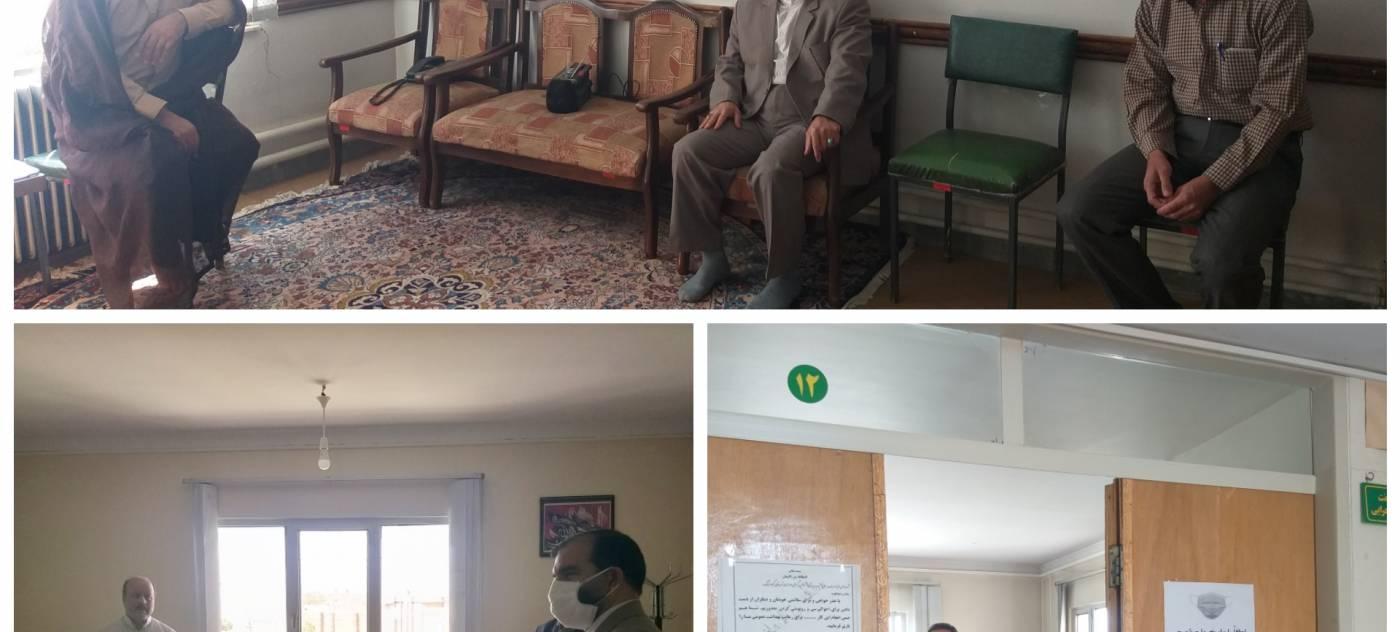 فرماندار کبودراهنگ بصورت سرزده از اداره جهاد کشاورزی بازدیدبه عمل آوردند.