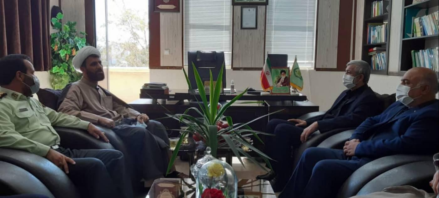 تبریک هفته ناجا باحضور در ستاد انتظامی شهرستان فامنین
