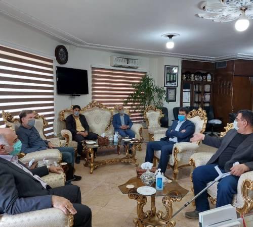 دیدار فرماندار ویژه ملایر با هیات رئیسه اتاق اصناف
