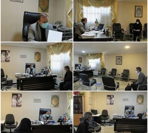 برگزاری پنجمین برنامه ملاقات مردمی باعنوان میز خدمت با حضور سعید کتابی فرماندار اسدآباد درسال ۱۴۰۰