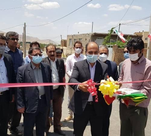 افتتاح 10 واحد مسکن روستایی در تویسرکان